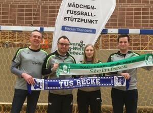 v.l.: Ralf Fromme, Johannes Müller, Anne Philipp und Felix Achteresch